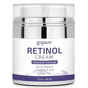 goPure Retinol Cream for Face - Anti Aging Face Cream - Anti Wrinkle Cream
