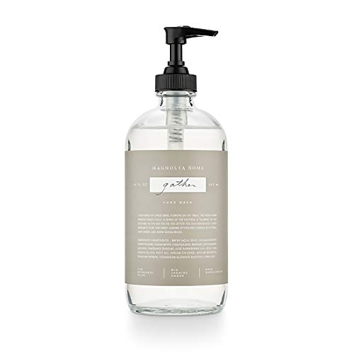 Magnolia Home Fragrance Gather Scent 15 Ounce Large Cleansing Hand Wash
