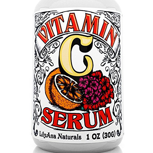 Vitamin C Serum with Hyaluronic Acid for Face and Eyes - Organic Skin Care