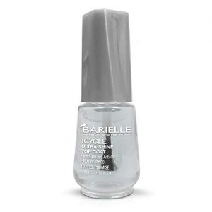 Barielle ICYCLE Ultra Shine Top Coat - Quick Dry Top Coat Nail Polish
