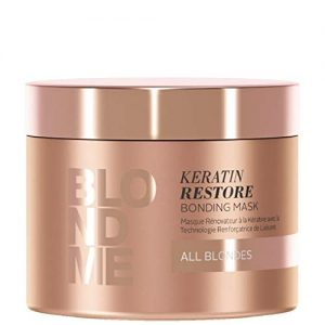 BLONDME Keratin Restore Bonding Mask for All Blondes