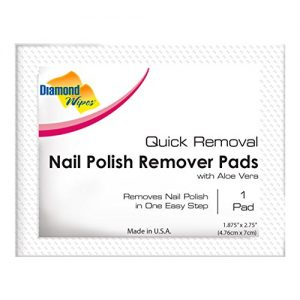 Nail Polish Remover Pads, Individually sealed packet, pre-soaked extra thick pad