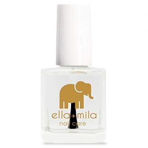 ella+mila Nail Care, Quick Dry Top Coat - In a Rush (high glossy shine, UV inhibitor )