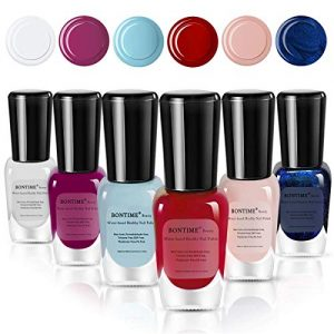 BONTIME Non-Toxic Nail Polish - Easy Peel Off & Quick Dry