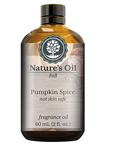 Pumpkin Spice Fragrance Oil (60ml) For Diffusers, Candles, Home Scents