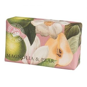 Kew Gardens Vintage Prints Wrapped Soap - Luxury Fragrance Bath Soap