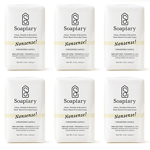 Soapiary Luxury Triple Milled 5 oz Soap Bar - Natural Vegan Plant-Based