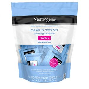 Neutrogena Fragrance-Free Makeup Remover Cleansing Towelette Singles