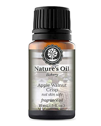 Apple Walnut Crisp Fragrance Oil (15ml) For Diffusers, Candles, Home Scents