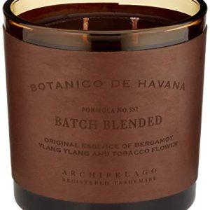 Archipelago Botanico De Havana Letter Press Candle