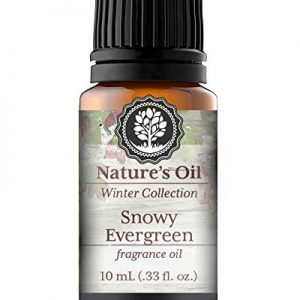 Snowy Evergreen Fragrance Oil 10ml for Diffuser, Making Soap, Candles