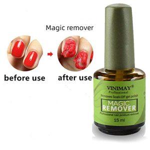 Magic Nail Polish Remover Professional Removes Soak-Off Gel Nail Polish