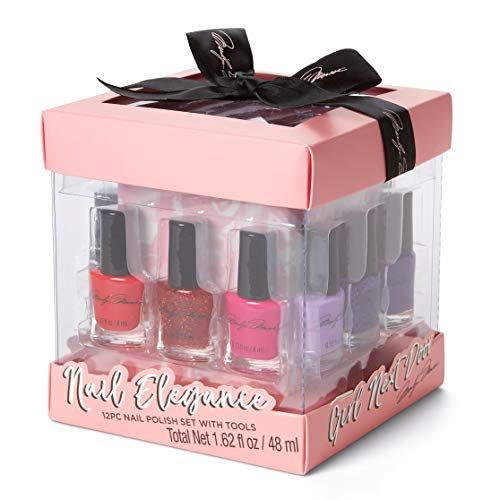 Marilyn Monroe Classic Colors 12-Piece Nail Elegance Nail Polish Set