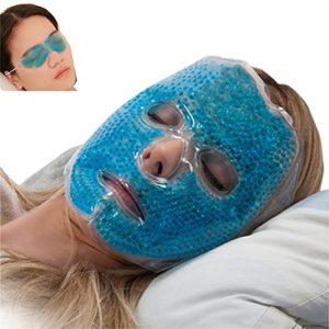 Full Face Gel Mask + Bonus: Eye pad, Hot & Cold Therapy Set