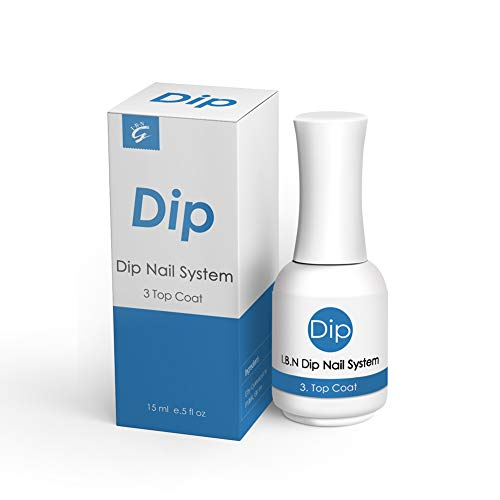 Dip Powder Top Coat 15ml High Shine (Added Calcium & Vitamin)