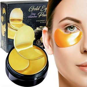 Luxury Collagen Gel Eye Pads Nano Active Gold Mask Patches