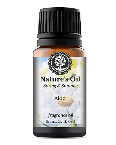 Aloe Fragrance Oil (15ml) For Diffusers, Soap Making, Candles, Lotion, Home Scents, Linen Spray, Bath Bombs, Slime