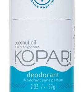 Kopari Aluminum-Free Deodorant Fragrance Free for Sensitive Skin