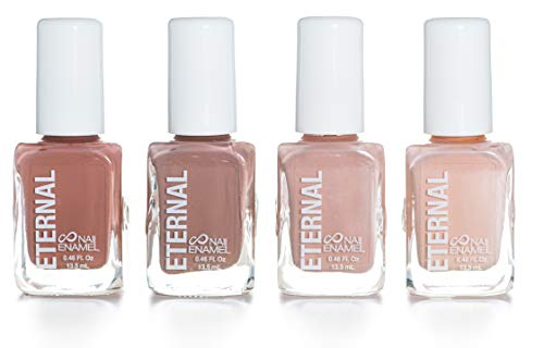 Eternal 4 Collection - Set of 4 Nail Polish: Long Lasting, Mirror Shine