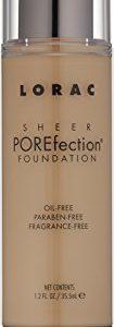 LORAC Sheer POREfection Foundation, Light, 3.5 oz
