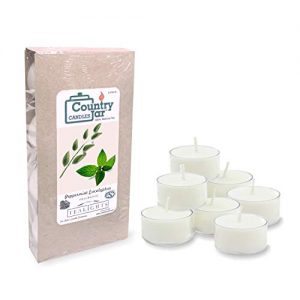 Country Jar Peppermint and Eucalyptus Tea Light Candles