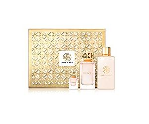 Tory Burch 3 PC Luxury Perfume Gift Set: 3.4 oz Eau De Parfum Spray
