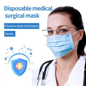 Medical disposable mask Dustproof Anti-fog And Breathable Face Masks 95% Filtration Mouth Masks 3-Layer Mouth Muffle Cover