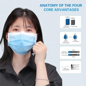 10Pcs/set Cotton Mouth Face Mask White Black Pink Blue Multi Color Mouth Mask Disposable Anti Dust Activated Carbon Mask Earloop