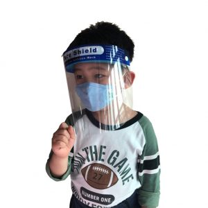 New Safty Face Shield Clear Flip-Up Visor Industry Dental Medical Work Guard For Kid Adult
