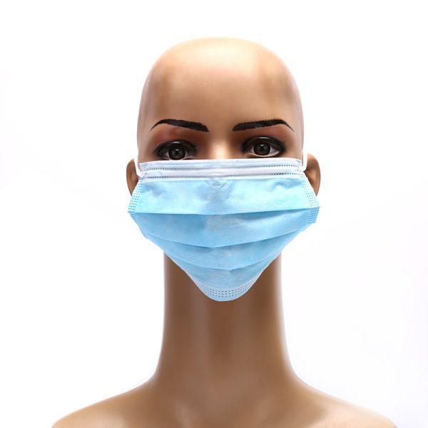 5Pcs/lot 3 Layers Anti-Dust Dustproof Disposable Masks Earloop Face Mouth Masks Facial Protective Cover Masks