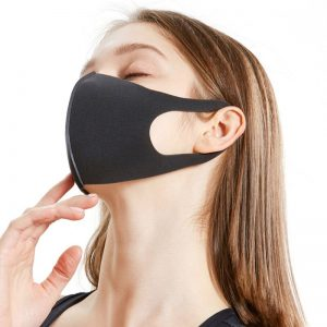 Dustproof Mouth Face Masks Hot Sale No-Disposable Mask Women Men Children Sponge Face Masks Can Be Washed And Reused