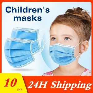 Child Face Masks Surgical Mouth Mask Anti-dust Children Health Protective 3 Layers Mouth Surgical Medical Cartoon Mask For Kids