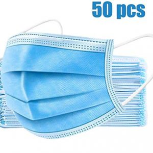 TATUBE 50Pcs Mouth, Disposable Face Mask for Unisex Outdoor