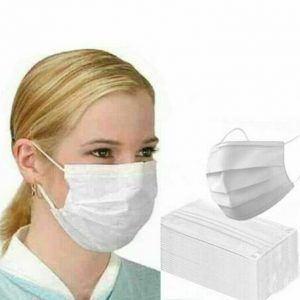 5/10/20/30/50 PCS Disposable Mask White Mouth Face Masks 3 Layer Masks Disposable Face Mask Non-Woven Mask Anti-Dust Face Masks