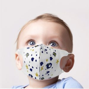 10pcs PM2.5 0 ~ 12 years Newborn Disposable Mask Face Mask Mouth Mask Anti Exhaust Dust Sun Block Colorful Graphic Nonwoven mask