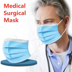 Profession Surgical Mask Safety Face Mask Medical Masks Elastic Mouth Soft Breathable Antiviral Masks