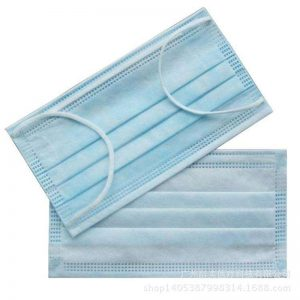 Hot Sale 20 pcs Solid Color Face Mouth Medical Masks Non Woven Disposable Anti-Dust Surgical Earloops Masks