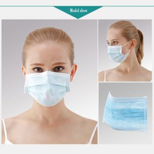 30pcs/Lot Anti-Dust Face Mask Disposable Mouth Mask Breathable 3-Layer Non Woven Face Masks Earloops Facial Protect Mascarilla
