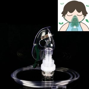 Aerosol Mask Oxygen Mask Cup Mask Tubing Nebulizer For Home Use Oxygen Concentrator Adult And Child Atomization Mask