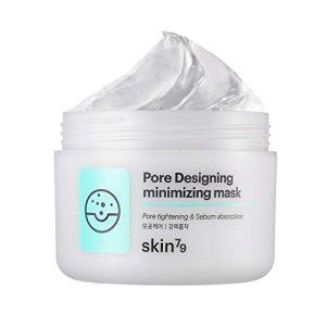 [SKIN79] Pore Designing Minimizing Mask 3.38 fl.oz. (100ml) - Carbonated Bubble Clay Wash off Mask, Sebum & Pore Care Skin Exfoliating & Detoxifying