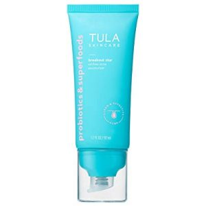 TULA Probiotic Skin Care Breakout Star Oil-Free Acne Moisturizer | Lightweight, Hydrating Moisturizer Treats & Prevents Breakouts, Formulated with Azelaic & Salicylic Acid | 1.7 fl. oz.