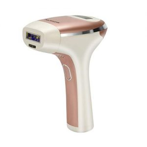 MiSMON Permanent IPL Hair Removal Device for Body, Bikini, Safe Home Use Professional Intense Pulsed Light Hair Removal System for Women/Men, 300,000 Flashes with Safe Skin Tone Sensor