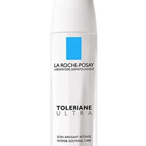 La Roche-Posay Toleriane Ultra Sensitive Skin Face Moisturizer Intense Soothing Care, Allergy Tested, 40ml