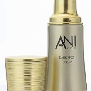 AniGold Luxury Skin Care Dark Spot Serum with Pure 24 KT Gold, Green Caviar, and Honey. Anti-aging serum for dark spots, wrinkles, fine lines, and dry skin. 1oz.