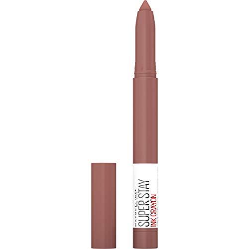Maybelline Superstay ink crayon Lipstick, Matte longwear lipstick Makeup, Trust Your Gut
