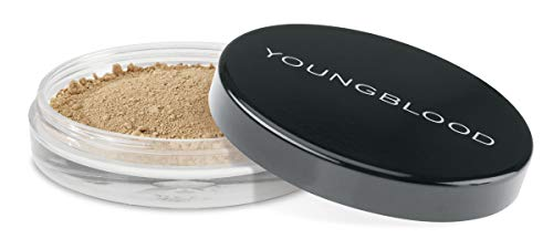 Youngblood Clean Luxury Cosmetics Natural Loose Mineral Foundation, Toffee | Loose Face Powder Foundation Mineral Illuminating Full Coverage Oil Control Matte Lasting | Vegan, Cruelty-Free