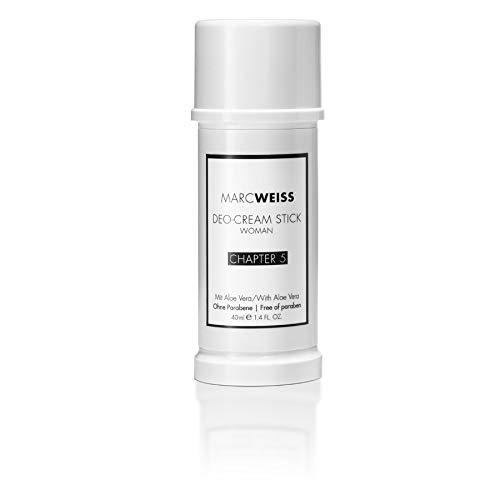 Marc Weiss Hypoallergenic Luxury Deodorant, Antiperspirant for Women (Chapter 5, 1.4 Ounces)