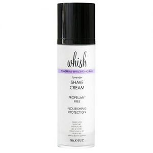 Whish Beauty Shaving Cream, Lavender, 5 Fl Oz