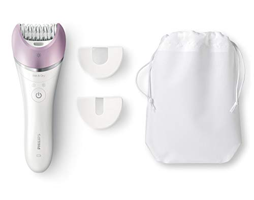 Philips Satinelle Advanced Hair Removal Epilator, for Legs, Underarms, Bikini & Face (Bre615)