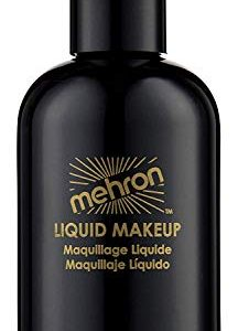 Mehron Makeup Liquid Face & Body Paint (4.5 ounce) (Black)